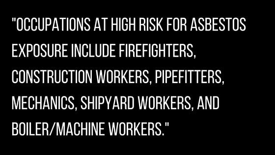 High risk occupation