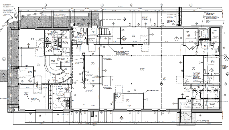 Gis for facility management part ii trimedia environmental subox titleworst case boxcoloree6800 radius0if no drawings are available to work with a gis professional can make an outline of your building malvernweather Choice Image