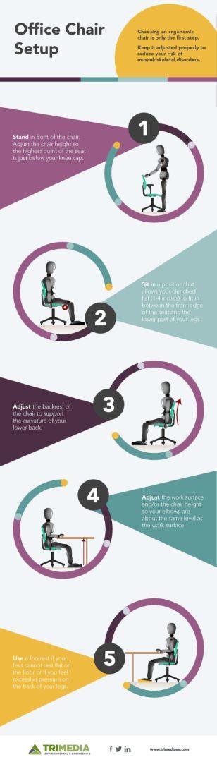 ergonomic chair adjustment